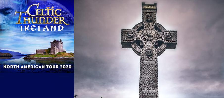 Celtic Thunder at Luther Burbank Center for the Arts