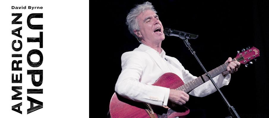 David Byrne at Sacramento Community Center Theater