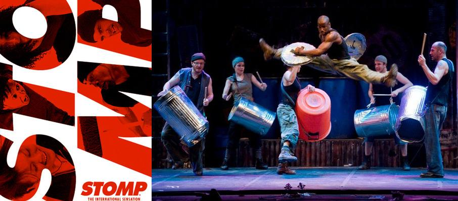 Stomp at Sacramento Community Center Theater