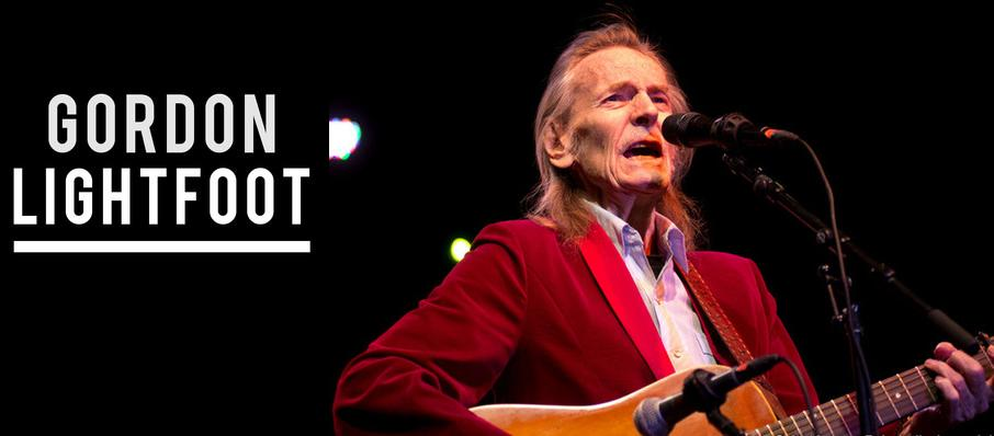 Gordon Lightfoot at Crest Theatre