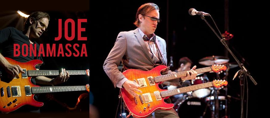 Joe Bonamassa at Sacramento Memorial Auditorium