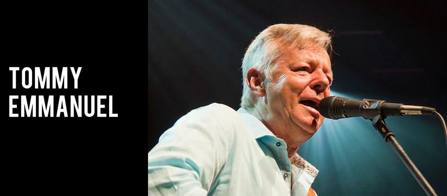 Tommy Emmanuel at Crest Theatre