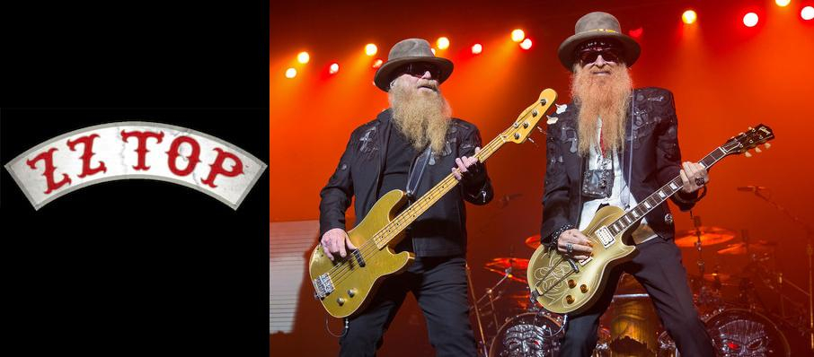 ZZ Top at Luther Burbank Center for the Arts