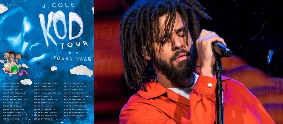 J. Cole at Golden 1 Center