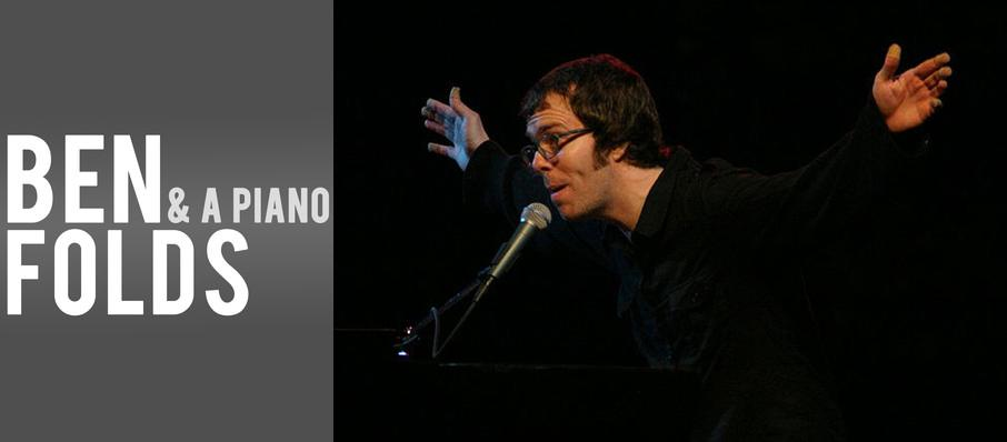 Ben Folds at Crest Theatre