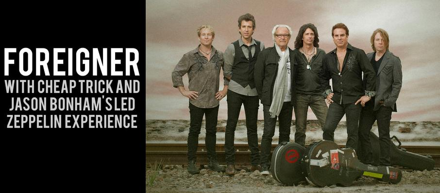Foreigner with Cheap Trick and Jason Bonhams Led Zeppelin Experience at Toyota Amphitheatre