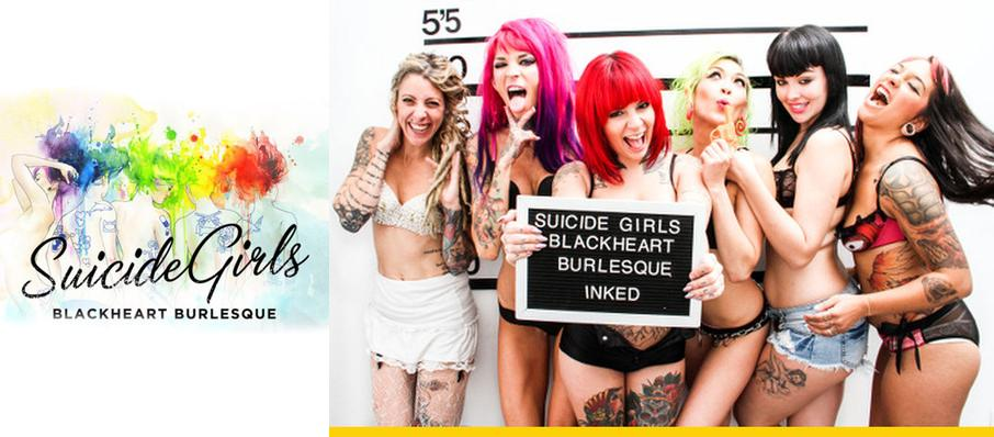 The Suicide Girls: Blackheart Burlesque at Crest Theatre