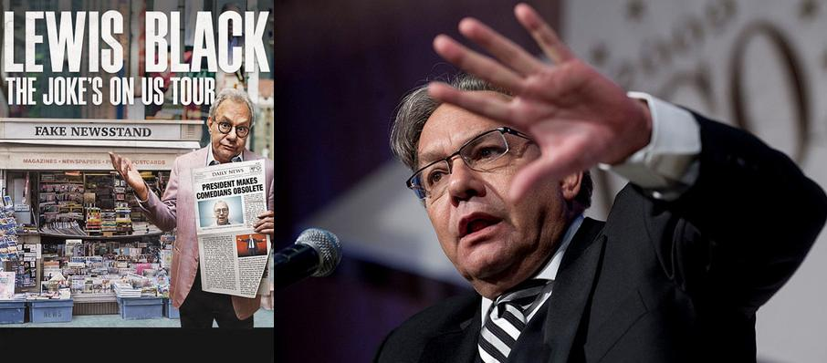 Lewis Black at Luther Burbank Center for the Arts
