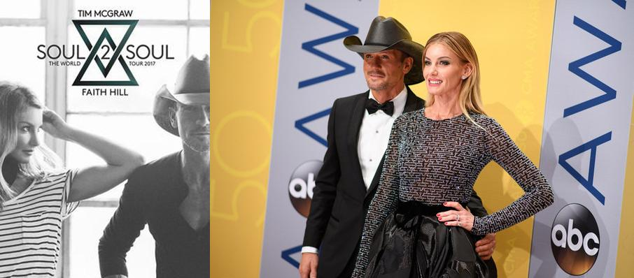 Tim McGraw and Faith Hill at Golden 1 Center