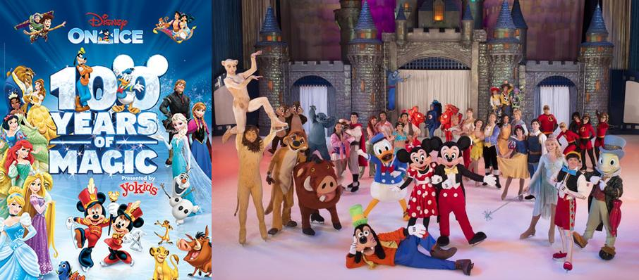 Disney on Ice: 100 Years of Magic at Golden 1 Center