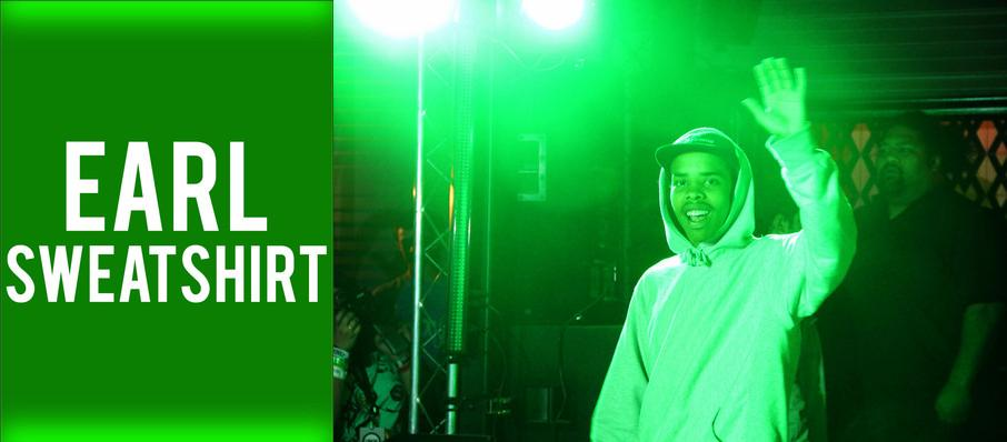 Earl Sweatshirt at Ace of Spades