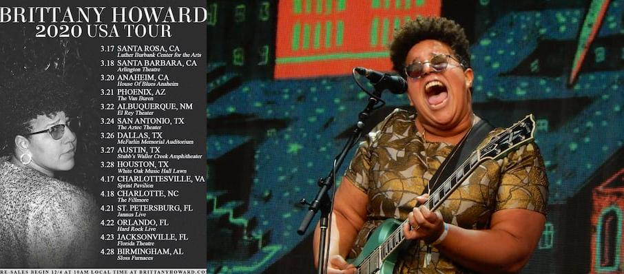 Brittany Howard at Luther Burbank Center for the Arts