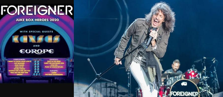 Foreigner with Kansas at Toyota Amphitheatre