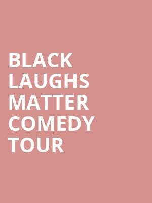 Black Laughs Matter Comedy Tour at Punch Line Comedy Club