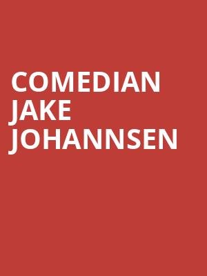 Comedian Jake Johannsen at Punch Line Comedy Club