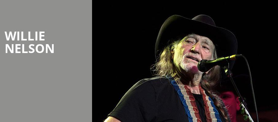 Willie Nelson, Luther Burbank Center for the Arts, Sacramento