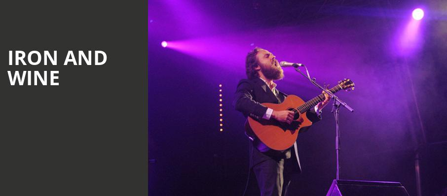 Iron and Wine, Crest Theatre, Sacramento