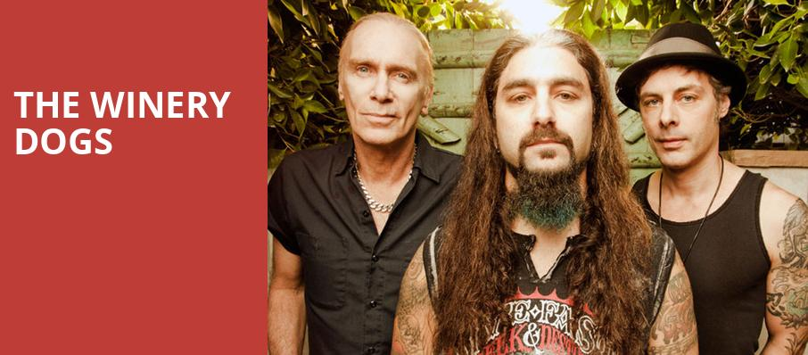 The Winery Dogs, Crest Theatre, Sacramento