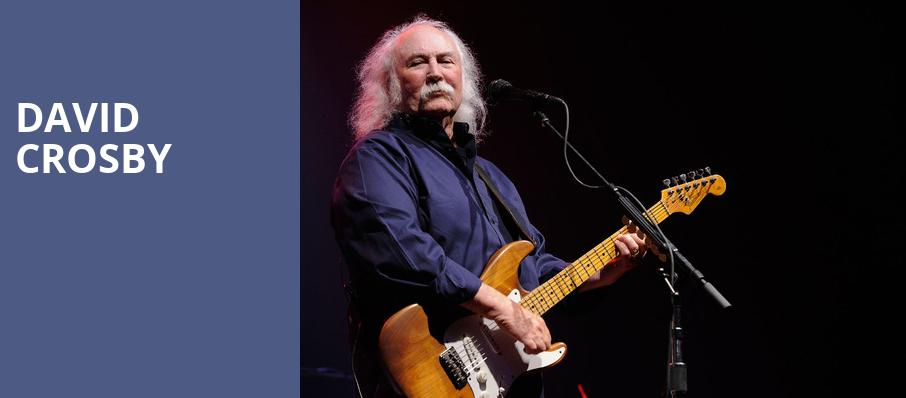 David Crosby, Crest Theatre, Sacramento