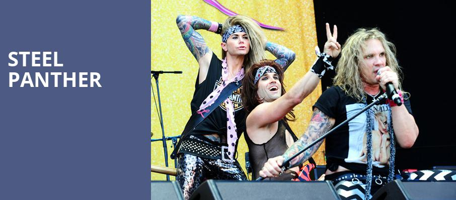 Steel Panther, Ace of Spades, Sacramento