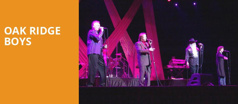 Oak Ridge Boys, Crest Theatre, Sacramento