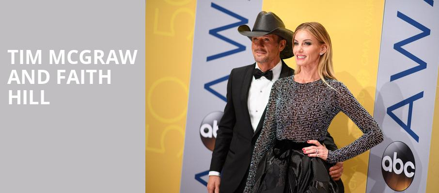 Tim McGraw and Faith Hill, Golden 1 Center, Sacramento