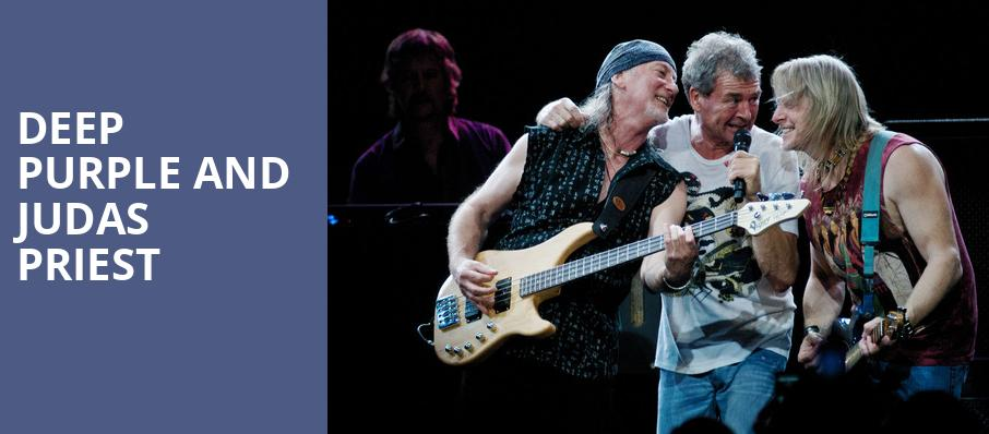 Deep Purple and Judas Priest, Toyota Amphitheatre, Sacramento