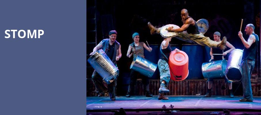 Stomp, Sacramento Community Center Theater, Sacramento