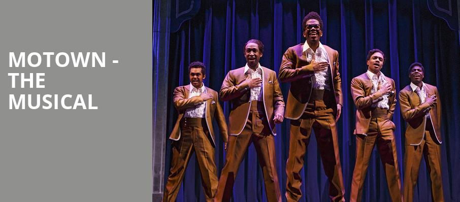 Motown The Musical, Stage One Three Stages, Sacramento